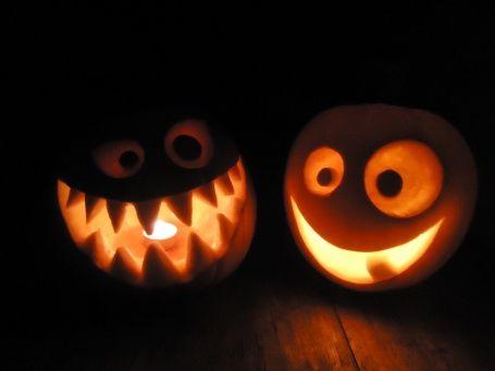 Vyřezávaná dýně na Halloween - foto inspirace