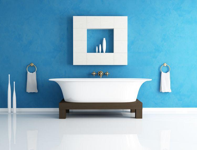 Modrá stěna