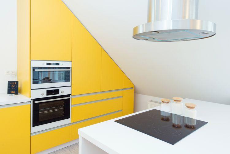 Žlutá v kuchyni