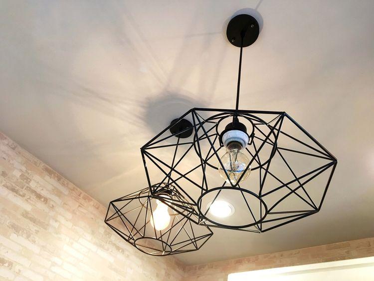 Zajímavé wire lampy
