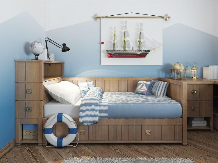Námořnický dětský pokoj