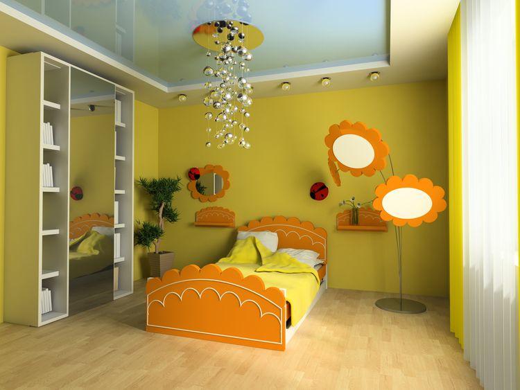 Žlutý dětský pokoj