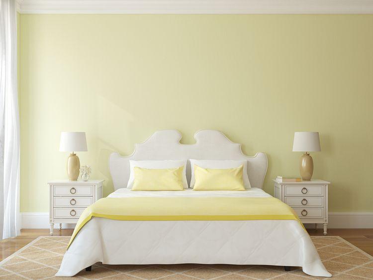 Jemen žlutá ložnice
