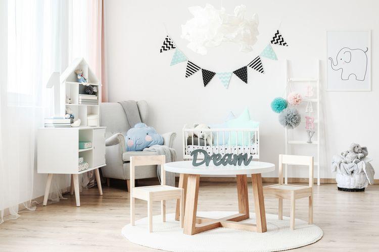 Stůl v dětském pokoji