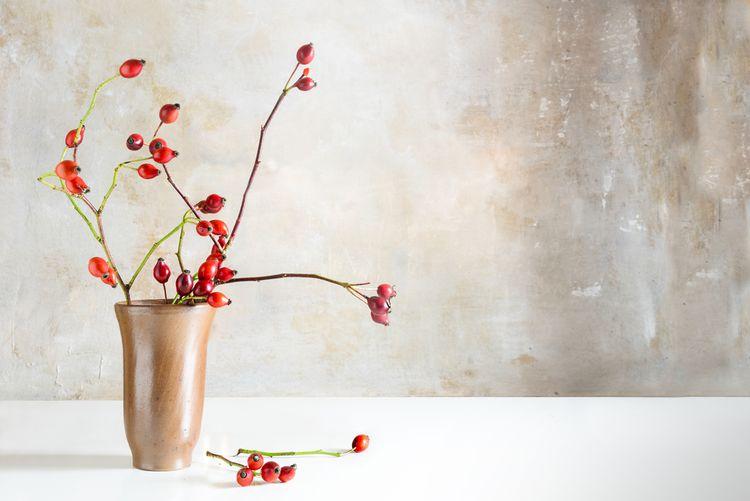 Hnědá váza