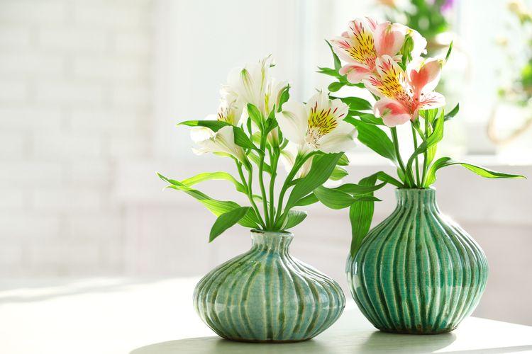 Zelené vázy