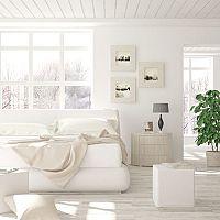 Bílá ložnice - Ideální barva pro čistou mysl