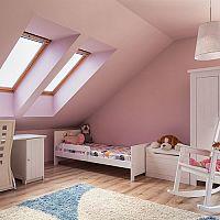 Dětský pokoj v podkroví - vytvořte dítěti vhodný prostor na všechny aktivity