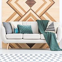 Geometrické vzory v obývacím pokoji - ozvláštní každý prostor