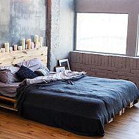 Modrá ložnice - barva oblohy působí blahodárně na spánek