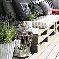 Paletové sezení - hodí se na zahradu i do domácnosti
