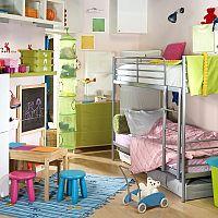 Patrová postel - šetří místo a děti ji milují