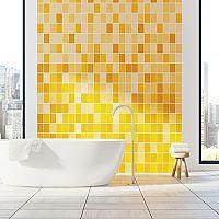 Žlutá koupelna - i doplňky rozhodují
