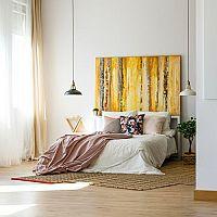 Žlutá ložnice - výběr, který neobanujete