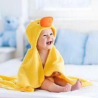 Dětské osušky s kapucí pro děťátko jsou hit! Kupujete bambusové, nebo froté?