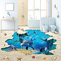 3D podlahy do koupelny i obýváku. Jak se dělají?