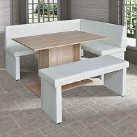 Kuchyňské rohové lavice nejen do malé kuchyně