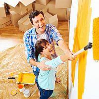 Jak vymalovat ložnici, dětský pokoj i obývák svépomocně