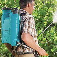 Akumulátorové postřikovače na stromy i plevel?