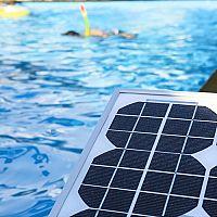 Jaký ohřev bazénu? Solární, nebo elektrický svépomocí