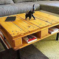 Jak vyrobit konferenční nebo jídelní stolek z palet