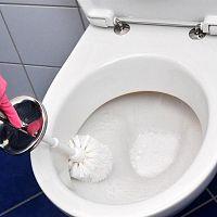 Jak odstranit vodní kámen z WC?