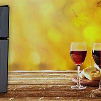 Dvouzónová elektrická vinotéka – super domácí lednička na víno