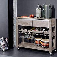 Servírovací stolek – minibar do vašeho příbytku