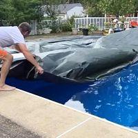 Jak zazimovat nejen nadzemní bazén