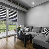 Látkové rolety do obývačky