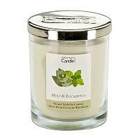 Aroma svíčka s vůní máty a eukalyptu Copenhagen Candles, doba hoření 40 hodin