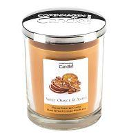 Aroma svíčka s vůní pomeranče a jantaru Copenhagen Candles  Sweet, doba hoření 40 hodin