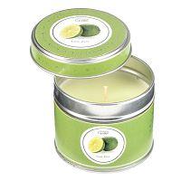 Aroma svíčka v plechovce s vůní limetek Copenhagen Candles  Lime Zest doba hoření 32 hodin