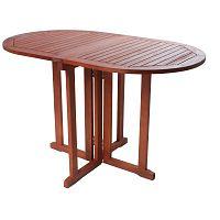 Balkonový variabilní stůl z eukalyptového dřeva ADDU Baltimore Egg