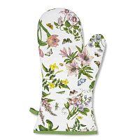 Bavlněná chňapka s motivem květin Portmeirion, šířka 19,5 cm