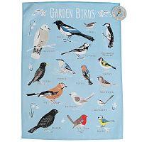 Bavlněná utěrka Rex London Garden Birds