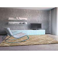 Béžový koberec Universal Kasbah Beige, 160 x 230 cm