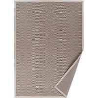 Béžový vzorovaný oboustranný koberec Narma Kalana, 160x230cm