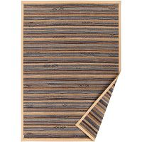 Béžový vzorovaný oboustranný koberec Narma Liiva, 140x200cm