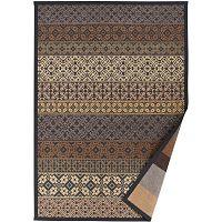 Béžový vzorovaný oboustranný koberec Narma Tidriku, 160x230cm