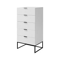 Bílá skříňka Interstil Kobe, 60 x 120 cm