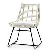 Bílá židle Thai Natura Angular