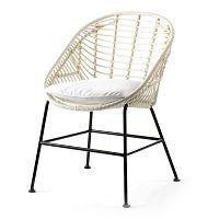 Bílá židle Thai Natura Cushion