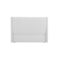 Bílé čelo postele Cosmopolitan design Dallas, 180x120cm