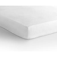 Bílé elastické prostěradlo Sleeptime,70x 200 cm