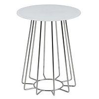 Bílý konferenční stolek Actona Casia, výška 50 cm