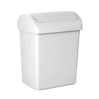 Bílý odpadkový koš Ta-Tay Swing Optimist, 20 l