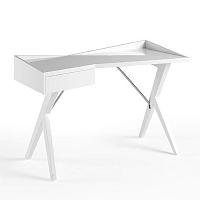 Bílý pracovní stůl Ángel Cerdá Reyna