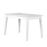 Bílý rozkládací jídelní stůl Durbas Style Otto,120x73cm