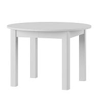 Bílý rozkládací jídelní stůl Szynaka Meble Uran